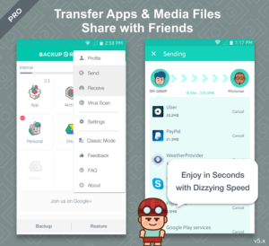 App Backup and Restore Pro v1.0.2 build 56 APK Download Free