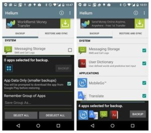 Free Helium App Sync and Backup APK Download