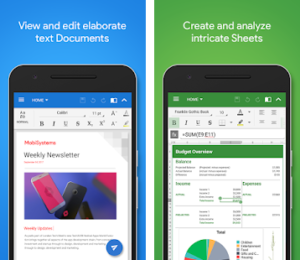 OfficeSuiten PDF, Word Sheets Slides Note Download APK