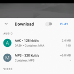 GetTube – YouTube Downloader & Player v0.9 [AdFree] APK Free Download