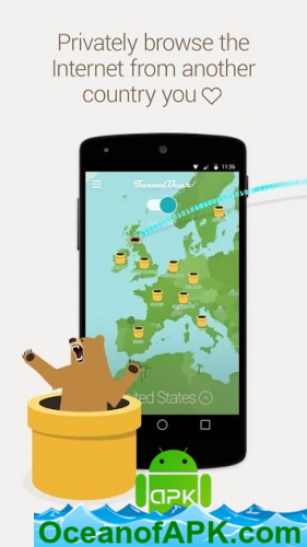 TunnelBear VPN v167 [Premium Mod] APK Free Download