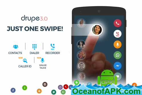 Contacts, Phone Dialer & Caller ID: drupe v3 042 00039-Rel [Pro] APK