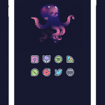 KAMIJARA Sticker Icon Pack v2.1 [Patched] APK Free Download
