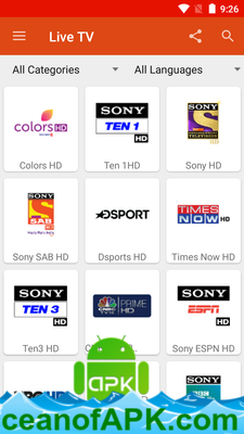 live tv apk free download