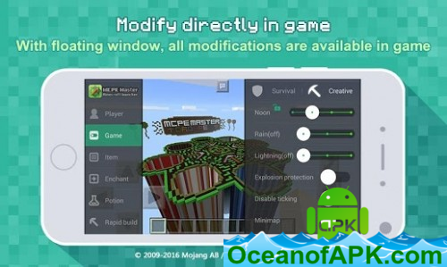 Master for Minecraft(Pocket Edition)-Mod Launcher v2 1 95