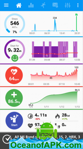 Notify & Fitness for Mi Band v8 5 9 [Pro] APK Free Download