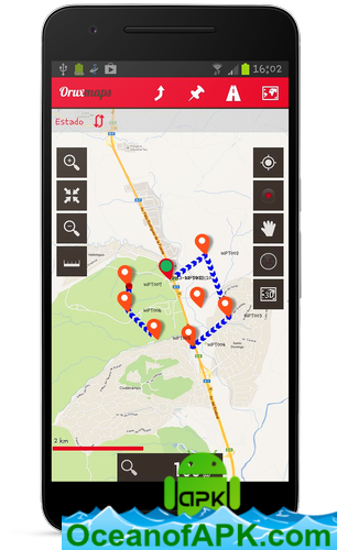 OruxMaps Donate v7 4 22 [Patched] APK Free Download