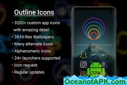 Outline Icons 2 0 - Icon Pack v2 01 [Patched] APK Free Download