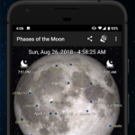 Phases of the Moon Pro v5.0.13 [Paid] APK Free Download