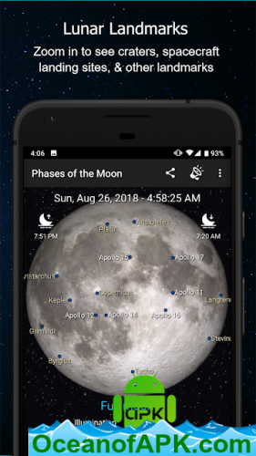 Phases of the Moon Pro v5 0 13 [Paid] APK Free Download