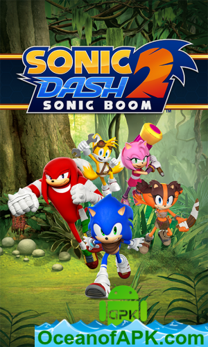 Sonic Dash 2: Sonic Boom v1 8 0 (Mod) APK Free Download