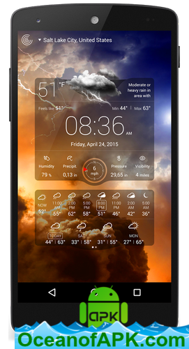 Weather Live v6 19 build 119 [Paid] APK Free Download