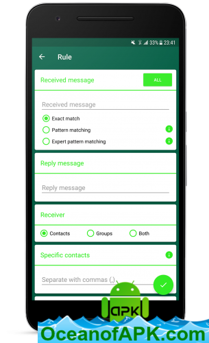 AutoResponder for WhatsApp™ v1 1 8 [Pro] APK Free Download