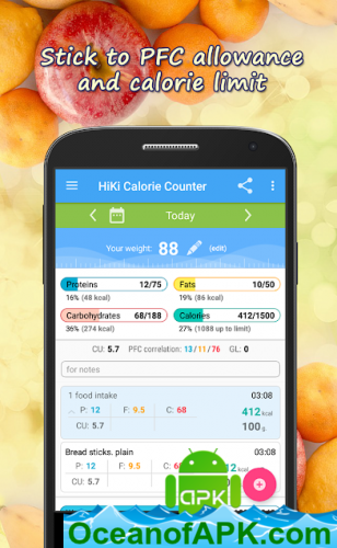 Calorie Counter HiKi v3 11 [Pro Mod] APK Free Download
