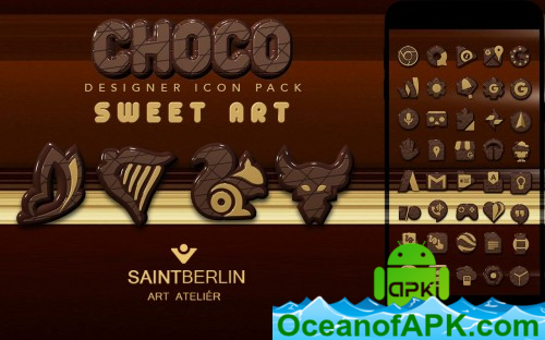Chocolate Icon Pack v1 7 APK Free Download