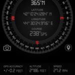 Compass GPS Pro Military Compass with Camera v1.8 [Pro] APK Free Download