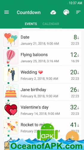 Countdown Days - App & Widget v6 4 [Premium] APK Free Download
