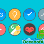 Flat Circle – Icon Pack v1.4 [Patched] APK Free Download