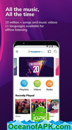 Hungama Music - Songs, Radio & Videos v5 2 4 [Mod] APK Free Download