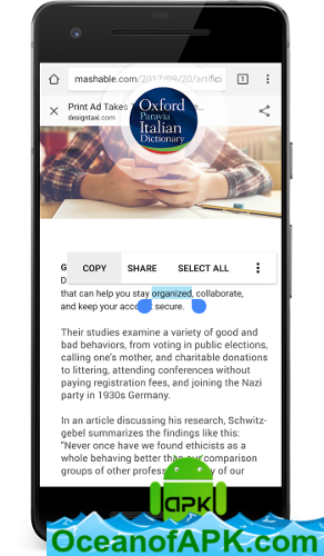 Oxford Italian Dictionary v10 0 463 [Premium + Mod] APK Free Download