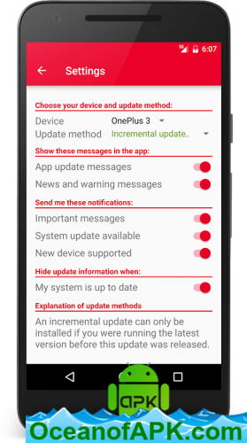 Oxygen Updater v2 7 4 [Pro] APK Free Download