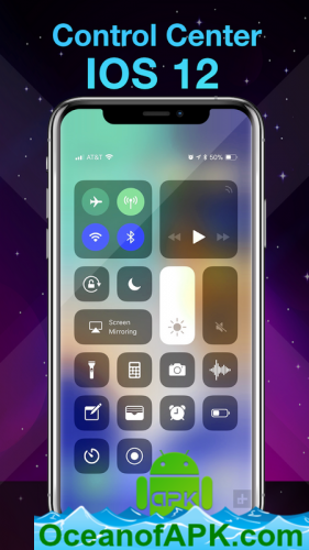 Phone X Launcher, OS 12 iLauncher & Control Center v4 4 2