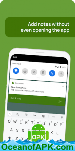 StatusNote 2 - Notes in Notifications v2 0 3 APK Free Download