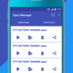 Voice & Audio Manager for WhatsApp , OPUS to MP3 v5.0.4 [Unlocked] APK Free Download