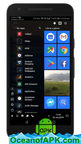 WX Launcher - Windows 10 styled 2019 Launcher v1 7337 BIS [Pro] APK