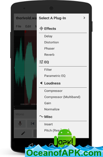 WaveEditor for Android™ Audio Recorder & Editor v1 73 [Pro