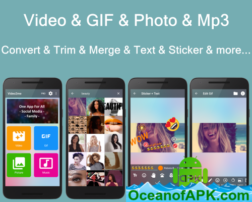 Video2me: Video Editor, Gif Maker, Screen Recorder v1 6 2