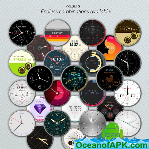 Watch Face - Pujie Black for Android Wear OS v4 0 67 APK Free Download