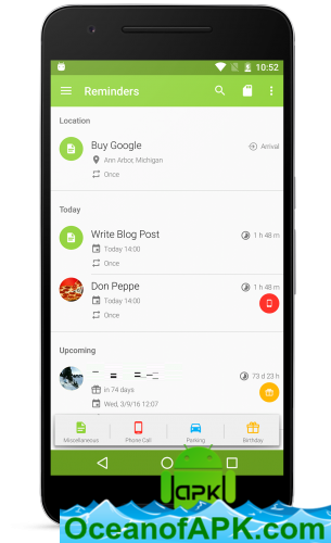 COL Reminder v3 5 9 build 499 [Donate] APK Free Download