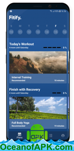 Fitify: Full Body Workout Routines & Plans v1 4 2 [Unlocked] APK