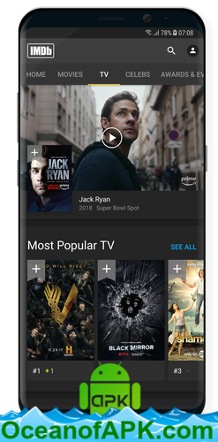IMDb Movies & TV v7 8 8 107880200 [Mod] APK Free Download