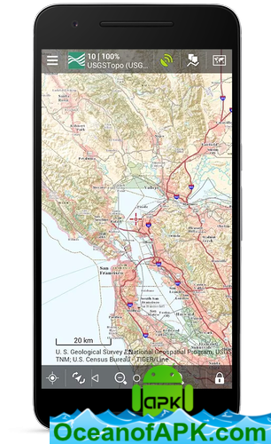 Locus Map Pro - Outdoor GPS navigation and maps v3.38.6 [Paid] APK on