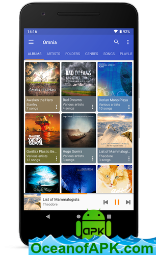 Omnia Music Player - MP3 Player, APE Player v1 2 0 build 35 [Premium