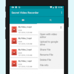 Secret video recorder (SVR) v1.3.4.10 [AdFree] APK Free Download