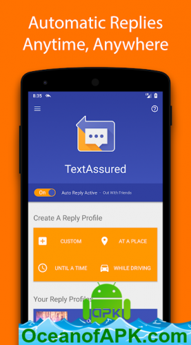 TextAssured - Auto Reply v1 0 05 APK Free Download