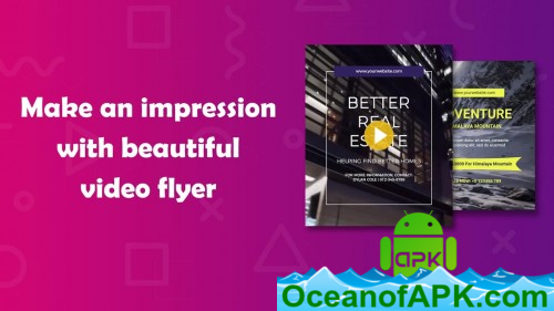 Video Flyer, GIF Poster Maker, Video Editor PRO v16 0 APK