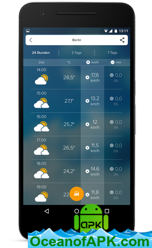 Weather Forecast, Radar & Widget - Morecast v4 0 16 [Premium