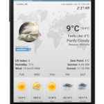 Weather&Clock Widget Ad Free v4.1.0.4 [Paid] APK Free Download