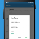 Parcels – Track Packages Amazon, DHL, Aliexpress v1.5.13 [AdFree] APK Free Download