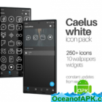 Caelus White – Icon Pack v1.1 [Patched] APK Free Download