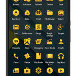 Golden Icons – Icon Pack v9.16.7 APK Free Download