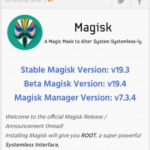 Magisk – Root & Universal Systemless Interface v19.4 [Final] APK Free Download