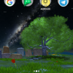 Nature Tree Milky Way live wallpaper v4.5.3 [Paid] APK Free Download