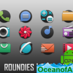 Roundies icon pack – actual simple icons v1.0.3 [Patched] APK Free Download