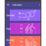 BMI,BMR and Body Fat Calculator-Weight Tracker PRO v4.1.0 APK Free Download