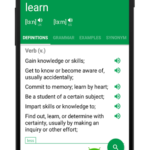 Dictionary : Word Definitions & Examples – Erudite v9.24.0 [Unlocked] APK Free Download